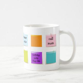 Paper Notes Coffee Mug