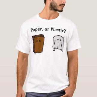 paper or plastic T-Shirt