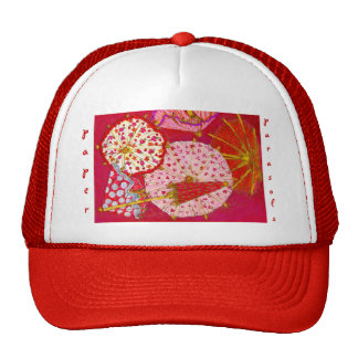 paper parasols by S Ambrose Trucker Hat