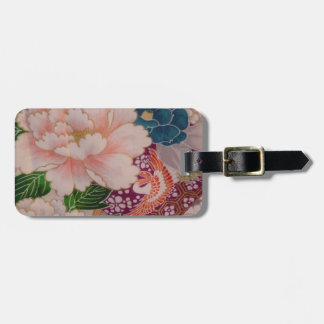 Paper Peonies from Japan Luggage Tag