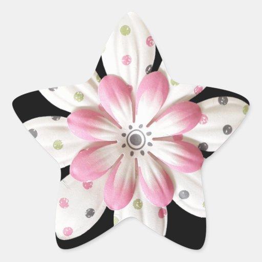 Paper Petals Star Stickers