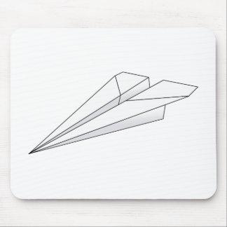 Paper Plane Mouse Pad