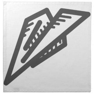 Paper Plane Napkin
