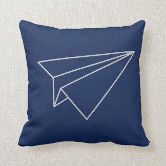 paper plane pillow
