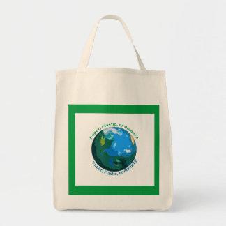 Paper, Plastic, or Planet Bag