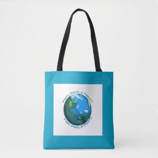 Paper, Plastic, or Planet? Market Tote
