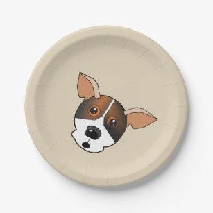 Paper Plate funny Dogu0027s picture  sc 1 st  Zazzle CA & Fun Paper Plates   Zazzle.ca