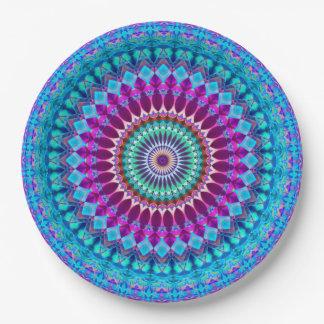 Paper Plate Geometric Mandala G382