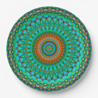 Paper Plate Geometric Mandala G388