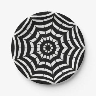 Paper Plates Black and White Design