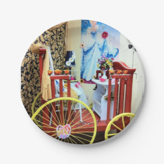 Paper plates Carriage