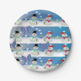 Paper plates Christmas