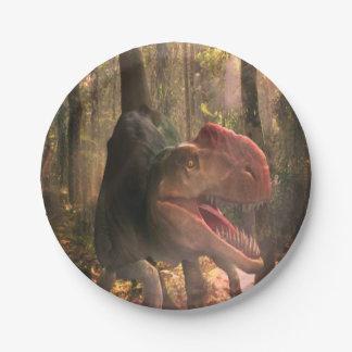 Paper plates Dinosaurs