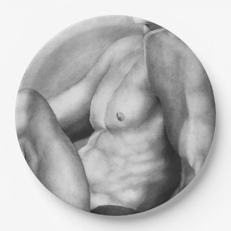 Paper Plates Fine Art Nude-Male For Gay Men