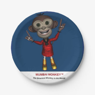 Paper Plates for Home or Kids Birthday Party 7 Inch Paper Plate