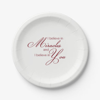 Paper plates Miracles