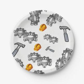 Paper plates Tools