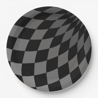 Paper Plates - Wonderland Floor Grey