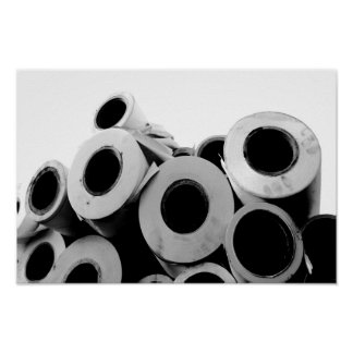 Paper Rolls Cool Unique Office Supply Photograph Poster