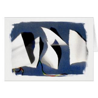 """ Paper Sails "" Greeting Card"