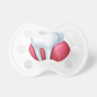 Paper Scroll Background Baby Pacifiers