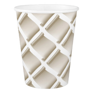 Paper Scroll Background Paper Cup