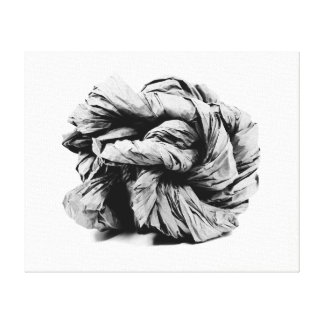 Paper Sculpture Canvas Print