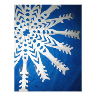 Paper Snowflake Letterhead Design