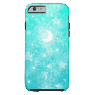 Paper Stars and Moon Fantasy Celestial Art Tough iPhone 6 Case