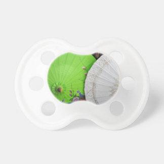 paper umblella baby pacifiers