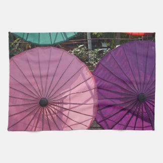 paper umbrella kitchen towels
