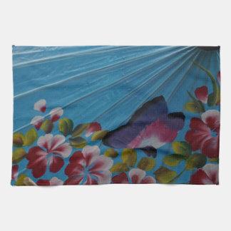 paper umbrella towel