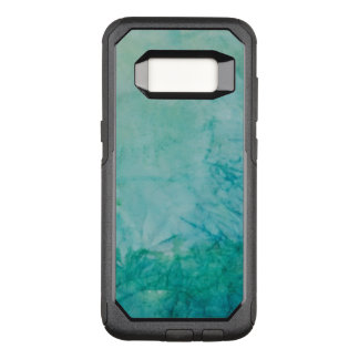 Paper With Blue, Green, And Black Paint Abstract OtterBox Commuter Samsung Galaxy S8 Case