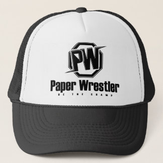 Paper Wrestling - Be The Champ Trucker Hat