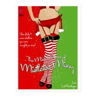 Paperback Postcard: Mistletoe Missy Postcard