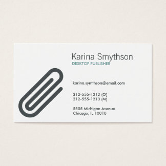 PAPERCLIP Business Card