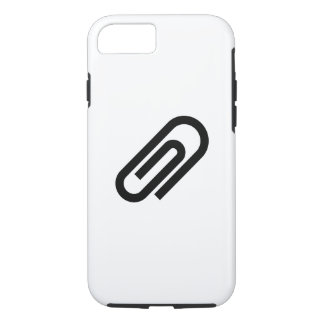 Paperclip Pictogram iPhone 7 Case