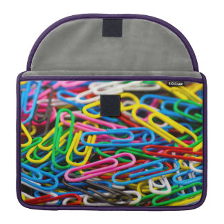 Paperclips Sleeve For MacBook Pro