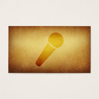 Papered Archive Deejay Singer Business Card