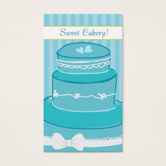 Paperfruit Fancy Cake Business Card