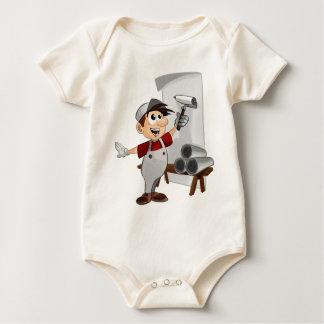 Paperhanger Decorator Upholsterer Hangings Painter Baby Bodysuit