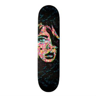 "PaperMonster ""He's Here"" Deck Skateboard"