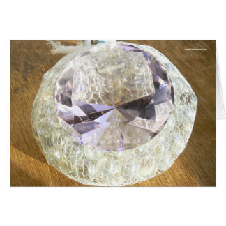 Paperweight on Marbles Card