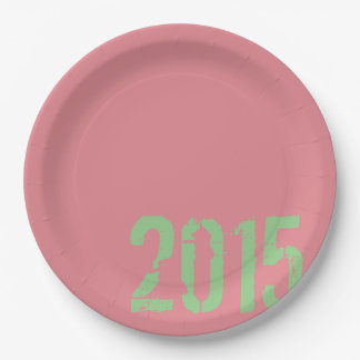 PaperWise 2015 Grad Party Paperware Paper Plate