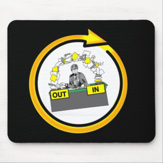 PAPERWORK LIFE CYCLE by Slipperywindow Mouse Pad