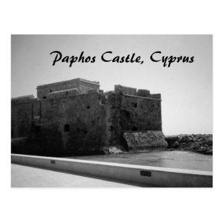 Paphos Castle, Cyprus Postcard