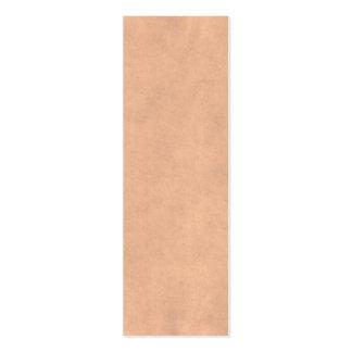 Papier antique bronzage de Brown de parchemin Carte De Visite Petit Format