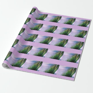 """Papier Cadeau tropical """"Breaks into leaf of Palm Wrapping Paper"""