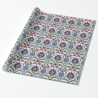 Papier Cadeau tuiles turques traditionnelles