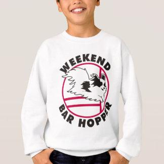 Papillon Agility Weekend Bar Hopper Sweatshirt